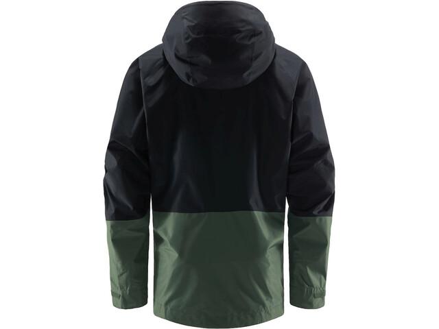 Haglöfs Skuta Jacket Men, true black/fjell green